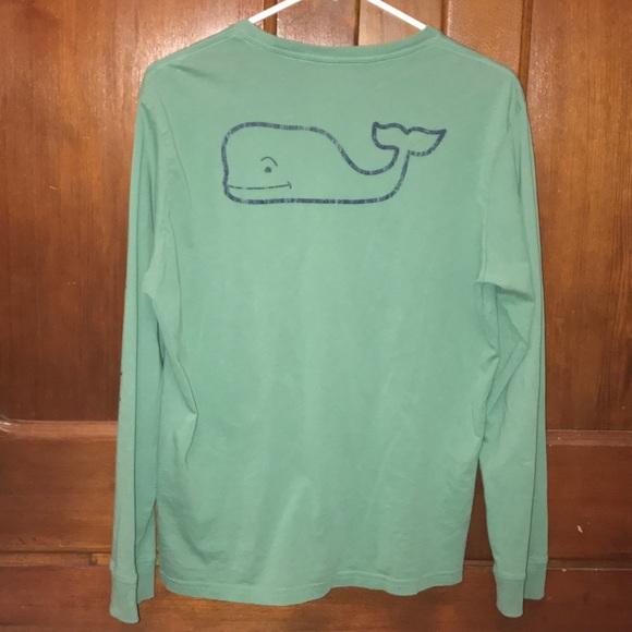 7faeade8 Vineyard Vines Shirts & Tops   Boys Longsleeve Vintage Whale Graphic ...